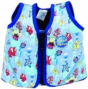 Splash About Float Jacket - Fish Print (3-6 Yrs)