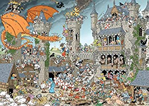 1000 Pieces of History - The Castle Jigsaw Puzzle (1000-Piece)