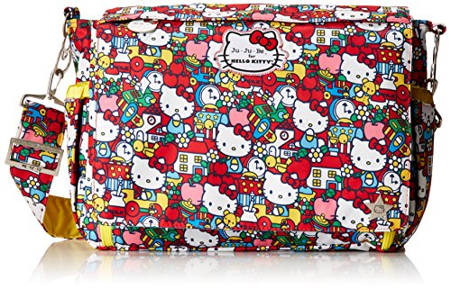Ju-Ju-Be Hello Kitty Collection Better Be Messenger Diaper Bag Tick Tock
