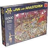 Jumbo 19018 - Jan van Haasteren - Im Zirkus, 5000 Teile Puzzle