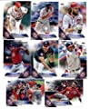 2016 Topps Baseball Series 1 Washington Nationals Team Set of 12 Cards: Ryan Zimmerman(#45), Gio Gonzalez(#47), Bryce Harper(#100), Doug Fister(#102), Trea Turner(#103), Joe Ross(#132), Max Scherzer(#209), Yunel Escobar(#247), Jonathan Papelbon(#266), Den