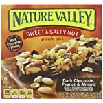 Nature Valley Sweet and Salty Nut Granola Bars (DARK CHOCOLATE PEANUT & ALMOND)(4 BOXES)(24 BARS TOTAL)