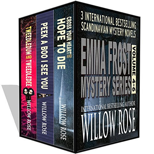 3 International Bestselling Mystery Novels – 1 Low Price  Emma Frost Mystery Series (Volumes 4-6) by Willow Rose  Save 90% with this Kindle Countdown Deal!