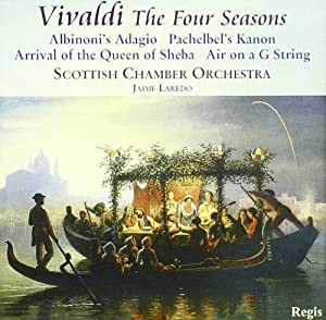 Vivaldi: The Four Seasons / Albinoni: Adagio / Handel: Overture to Berenice, Arrival of the Queen of Sheba / Bach: Air on a G String /  Purcell: Chaconne