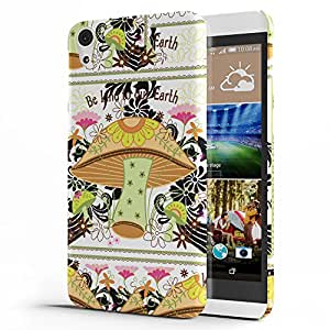 Koveru Designer Printed Protective Snap-On Durable Plastic Back Shell Case Cover for HTC Desire 826 - Wild Garden
