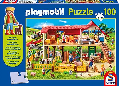 playmobil-schmidt-farm-jigsaw-puzzle-with-original-playmobil-character-figure-100-piece