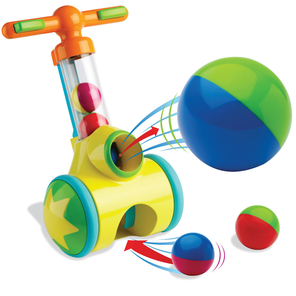 Amazon.com: TOMY Pic n' Pop Ball Blaster Baby Toy: Toys