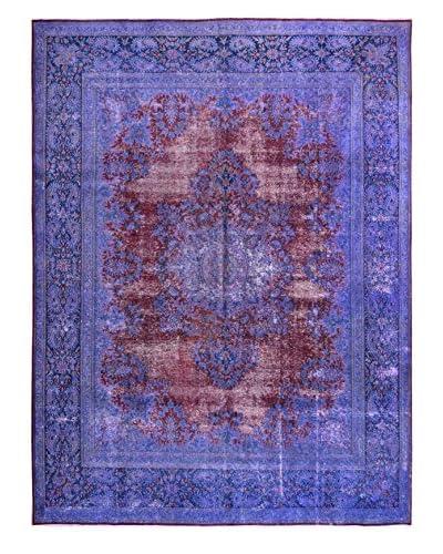 Kalaty One-of-a-Kind Pak Vintage Rug, Pink/Purple, 9' 5 x 12' 4