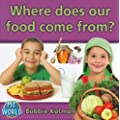 Where Does Our Food Come From? (Bobbie Kalman's Leveled Readers: My World: G)