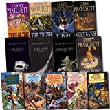 Terry Pratchett Terry Pratchett Collection Discworld 13 Books Set (The Light Fantastic, Pyramids, Carpe Jugulum, Wyrd Sisters, Interesting Times, Guards! Guards!, Reaper Man, Jingo, Thief of Time, Making Money, The Truth, Night Watch) (Discworld Collecti