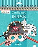 Decopatch - GY022O - Avenue Mandarine - Coloriage masque - Graffy Pop Mask - Garçon...