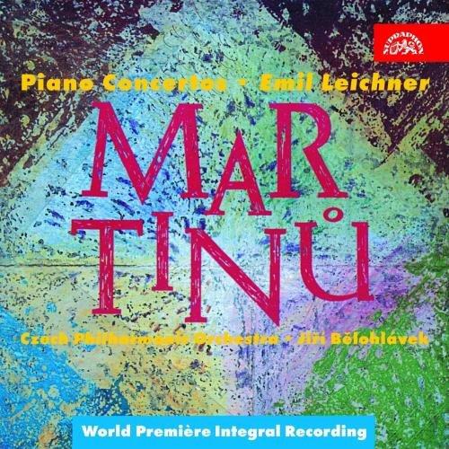 Martinu:  Concerti Per Piano N. 1-5,