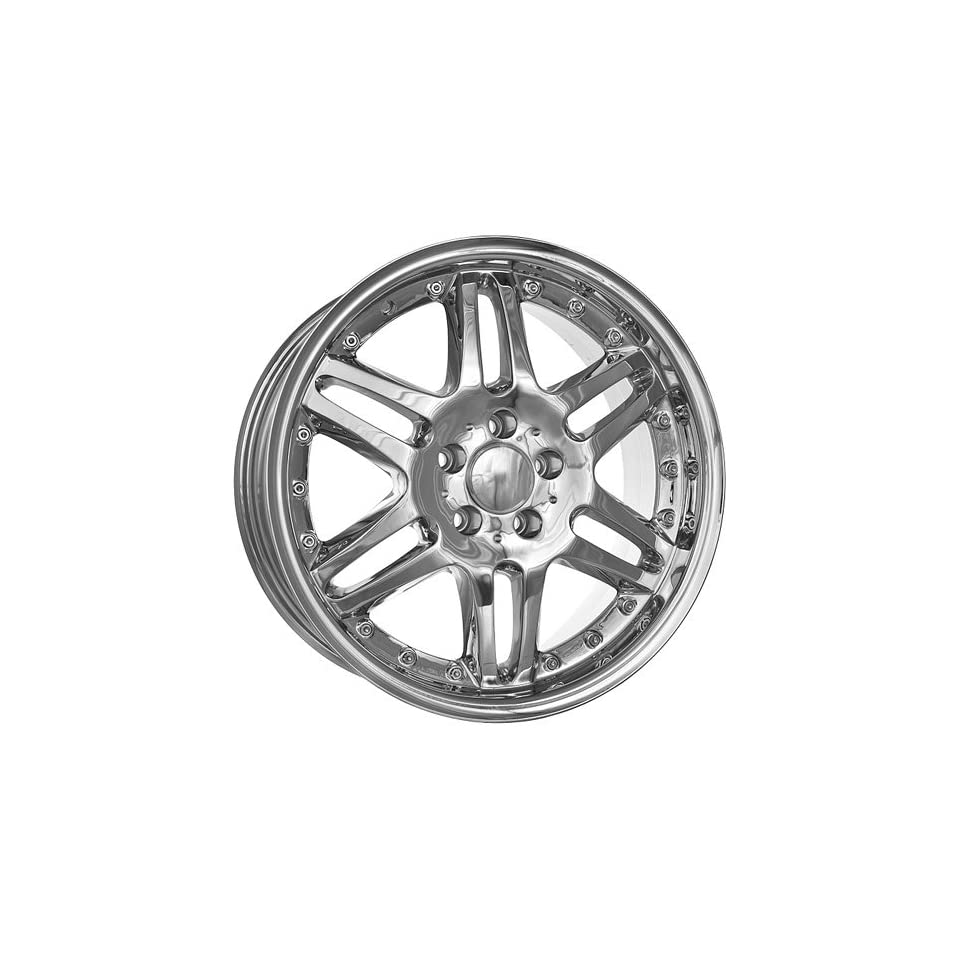 18 inch AMG Mercedes Benz C CL CLK E S SL SLK wheels rims chrome E500 CLK500