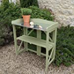 Folding Potting Table/Bench in Painte...