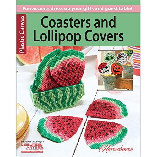 Leisure Arts Coasters and Lollipop Covers - 1