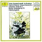 Liszt: Sonata in B minor; Hungarian Rhapsody / Schumann: Sonata No.2 / Brahms: Rhapsodies Op.79
