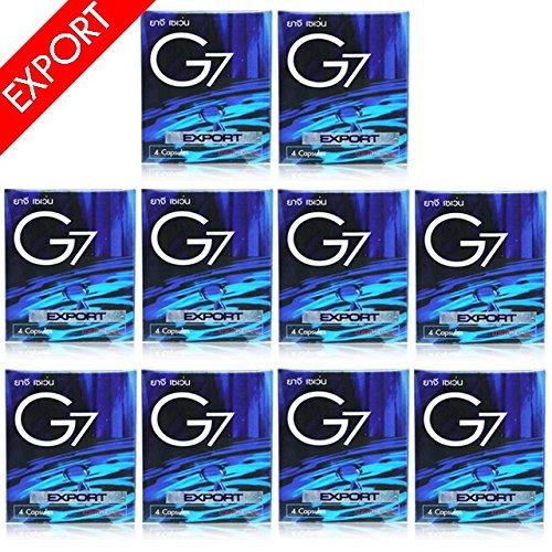 10箱BOX仕様 G7 EX 日本限定モデル ジーセブン EXPORT