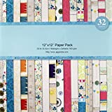 Shopaholic Paper Pack Craft Papers- 16 Designs 32 Sheets {PP12*32}