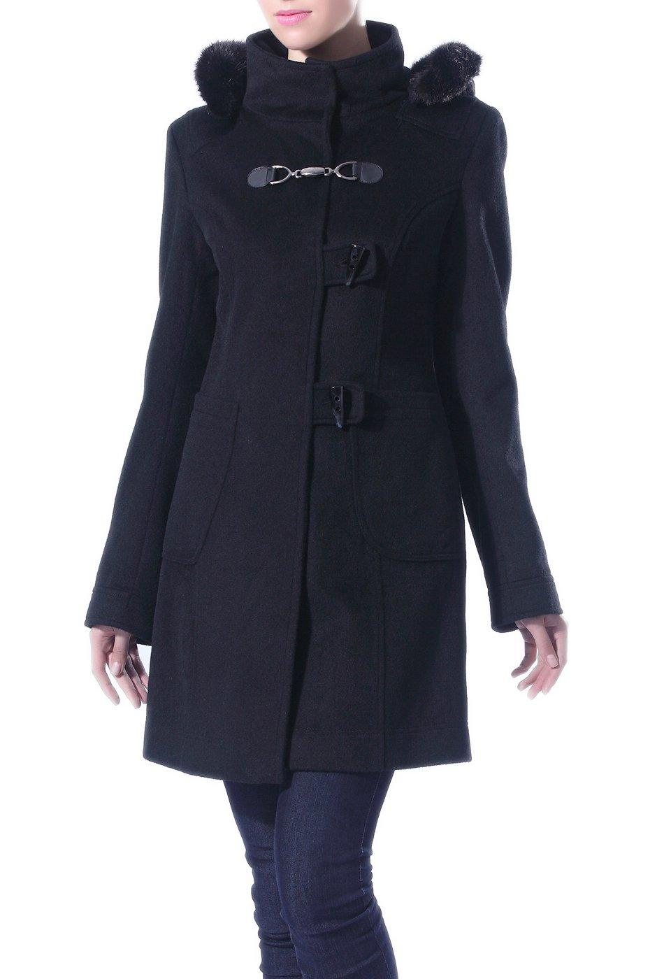 Jessie G. Women's Cashmere Blend Parka Coat