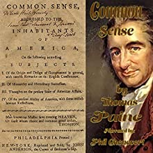 Common Sense (       UNABRIDGED) by Thomas Paine Narrated by Phil Chenevert