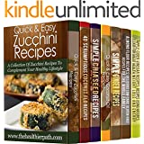 7 Practical Recipe Books With Specific, Yet Delicious Ingredients: 206 Recipes That Will Turn Even Zucchinis & Ginger into Amazing Treats