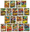 Pokemon Mega Ex Imitation Cards for Game Card Playing, Set of 18