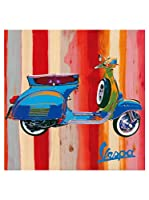 Artopweb Panel Decorativo Salvini Pop Vespa II 50x50 cm Multicolor