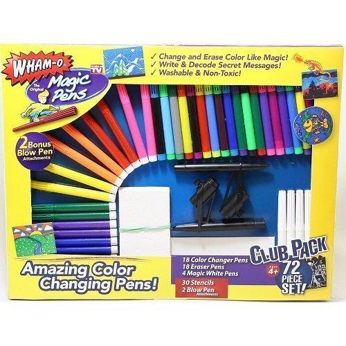 Wham-O Magic The Original Pens Set, 72 Piece primary
