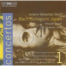 Concerto in C minor, BWV 1060: II. Adagio