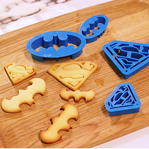 ilauke-4-Emporte-Pices-Super-Hros-Dcorations-de-Biscuit-Ptisserie-Chocolat-Cookie-Cutter-Gteaux-Outils