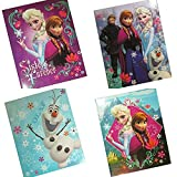 Disneys Frozen 4 Pack of School Folders