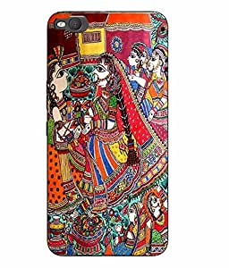 Make My Print Printed Multicolor Hard Back Cover For HTC One X9 Smartphon