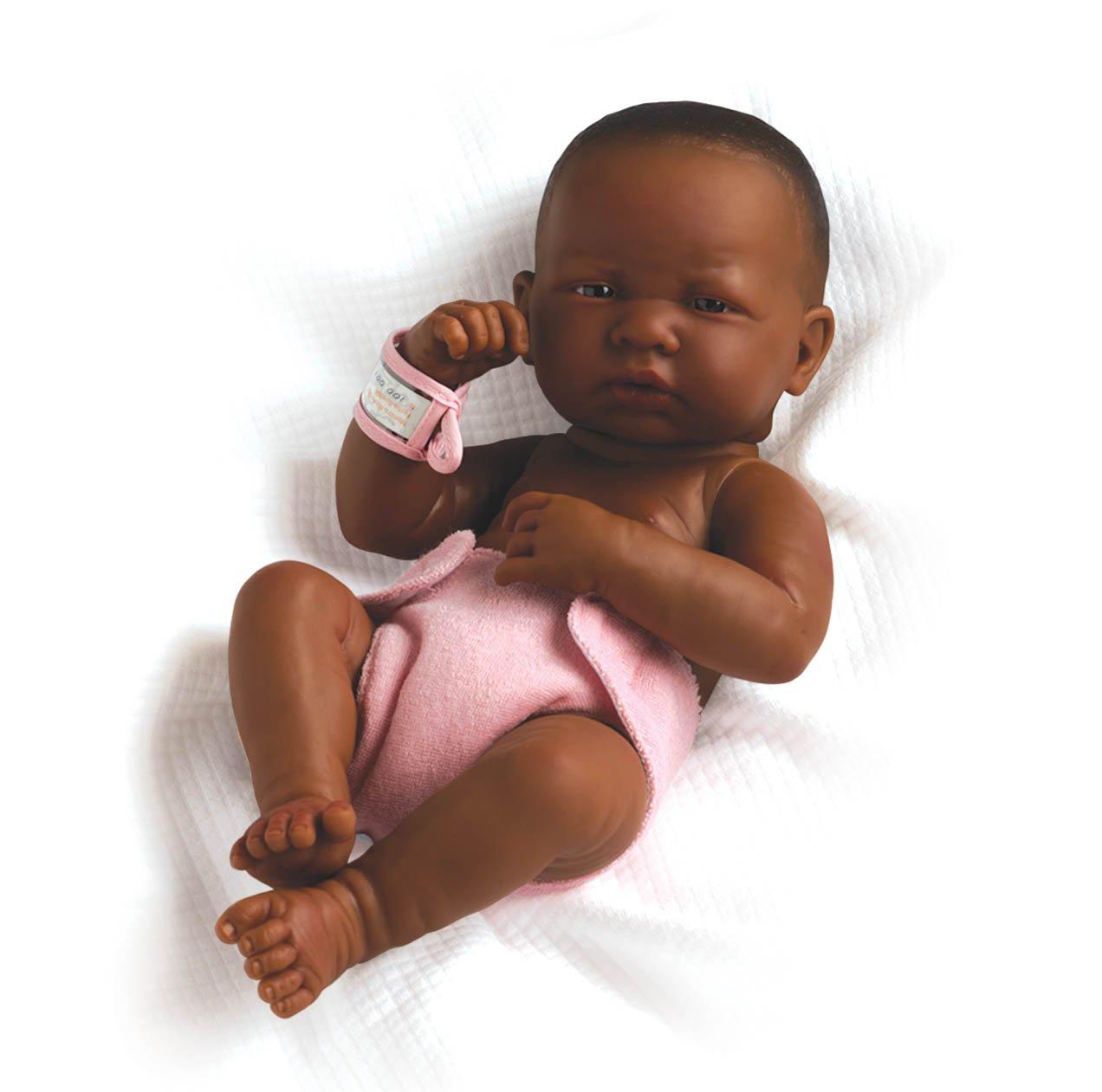Newborn Baby Girl Toys : Black baby dolls webnuggetz