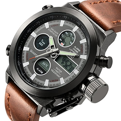 Tamlee-Fashion-Leather-Mens-Military-Watches-Multifunctional-Digital-Watch-Men-Sports-Watch