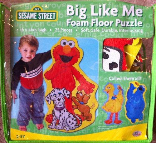 Cheap Fun Sesame Street Elmo BIG Like Me Foam Floor Puzzle (B0047177RC)