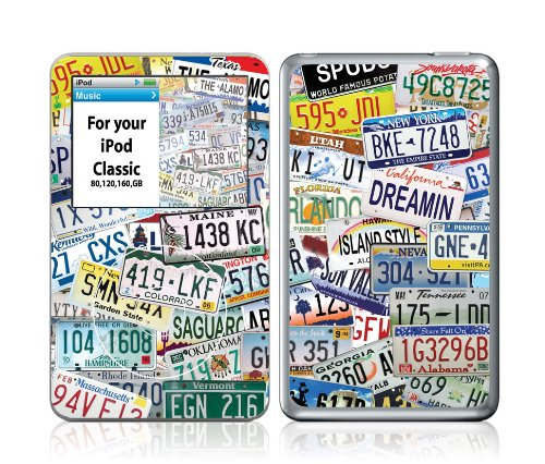 OttoSkins Protective Skin for iPod Classic (fits 80, 120, 160 GB) - Summer Vacation