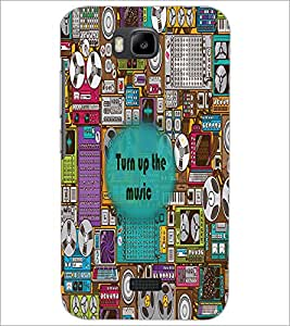 HUAWEI HONOR BEE TIRN UP MUSIC Designer Back Cover Case By PRINTSWAG