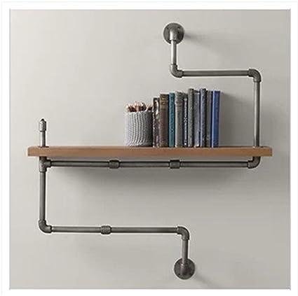 LIUYU Tubi in ferro massiccio in rack Rack in mensola per bagno