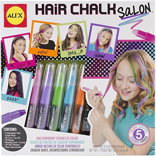 Hair-Chalk-Salon-Washable-Assorted-ChildrenS-Arts-Crafts-By-Alex-738W