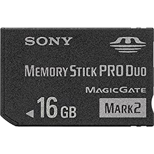 Sony 16 GB Memory Stick PRO Duo Flash Memory Card MSMT16G - Bulk Package