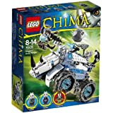 Lego Legends Of Chima - Playthèmes - 70131 - Jeu De Construction - Le Char Bouclier De Rogon