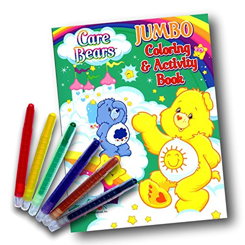 Care Bears Coloring & Activity Book with Twist-Up Crayons