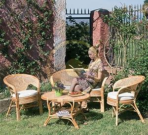 Salotto in rattan da arredo giardino per esterno tavolo for Amazon arredo giardino