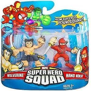 Super Hero Squad Mini Figures