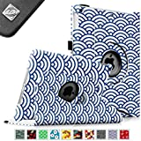 Fintie Apple iPad Air Case - 360 Degree Rotating Stand Case Cover with Auto Sleep / Wake Feature for iPad Air / iPad 5 (5th Generation) - Ocean Mist