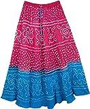 """TLB - Riverside Tie Dye Womens Skirt - L:34""""; W:24""""-34"""""""