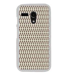 Colourful Pattern 2D Hard Polycarbonate Designer Back Case Cover for Motorola Moto G :: Motorola Moto G (1St Gen)