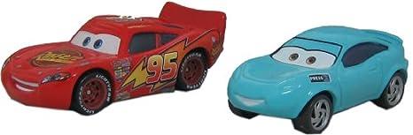 Disney Cars movie moment 6 Lightning McQueen & Corey turbo Witts Pixar boy