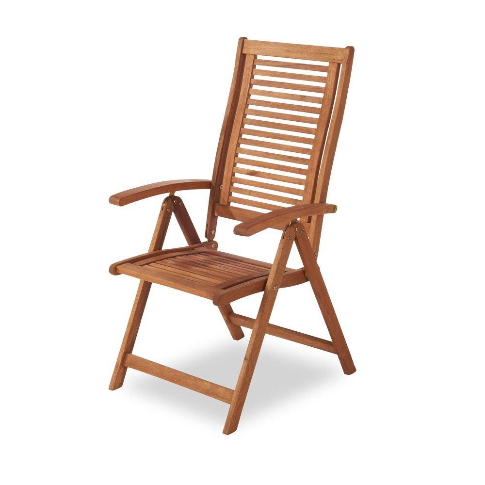 MERXX Garten-Klappsessel Cordoba aus Holz, mehrfach verstellbar günstig online kaufen