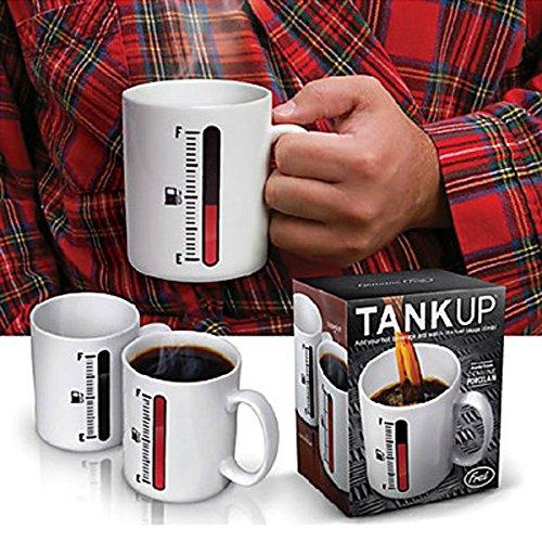 Bargain World Colore che cambia magia termometro tazza tank tazza di caffÚ su tazze